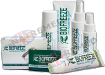 BIOFREEZE Cool Gel & Roll-on is ideal for the relief of muscle aches and joint discomfort associated typically with minor backache, tendonitis muscle over-use, strains/stress and sports injuries; BIOFREEZE CRYOSPRAY Spray is so effective and advanced, you can offer it to your patients with confidence for convenient at home self-care.
