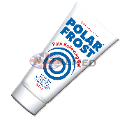 Polar Frost Gel Aloe Vera has an anti-inflammatory effect and it keeps the skin smooth and moist throughout treatment.  Massage a thin layer of Polar Frost Cold Gel into the painful area.
